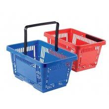 Cesta de la compra 44x28x25 cms de Color Azul 1034 FERVIK (1 ud)