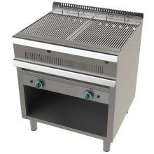Barbacoa a gas con mueble 11+11 Kw Serie 900 JUNEX de 800x900x900 h mm 9200-2