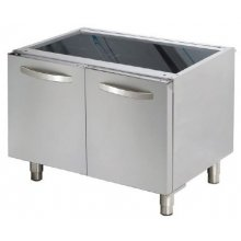 Mueble soporte con puertas 400x610x630h mm D712 ARISCO