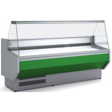 Vitrina Refrigerada DOCRILUC SIN RESERVA Cristal Recto Fondo 940 de 1525 x800 x1230h mm VEDS-9-15-R