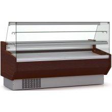 Vitrina Refrigerada DOCRILUC Pastelería Cristal Doble Recto Fondo 940 de 2025x940x1295h mm VEPD-9-20-RR