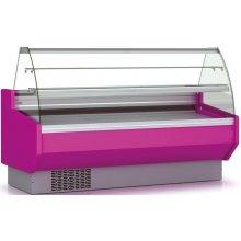 Vitrina Refrigerada DOCRILUC Pastelería Cristal Doble Curvo Fondo 940 de 2025 x940 x1295h mm VEPD-9-20-C