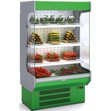 Mural Refrigerado Expositor DOCRILUC Frutas y Verduras Fondo 725 de 1480x725x2020h mm M-6-150V