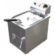 Freidora Eléctrica 10 litros Uso Profesional Agua y Aceite de 325 x440 x360h mm F10