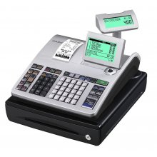 Caja Registradora CASIO SE-S400 Conectividad a Balanza y Escáner SE-S400SB-SR