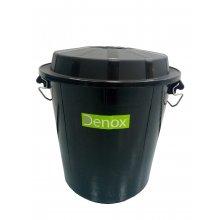 Barreño Industrial de 50 Litros Color Negro 13250 DENOX (1 ud)