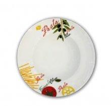 Plato de Pasta de Porcelana Deco 2427 de 27cm 178-0013 ALAR (OUTLET LIQUIDACIÓN) (Caja 6 uds)