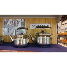 Cafetera Pava 2Lts con Fondo Sandwich Acero Inoxidable 18/10 68225 Lacor (1 ud)